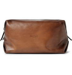 Berluti Doudou GM Polished-Leather Wash Bag