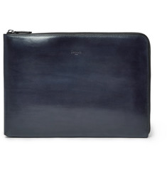 Berluti Gloria Polished-Leather Portfolio