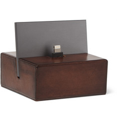 Berluti Polished-Leather iPhone Charging Dock