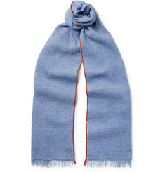 Berluti Cashmere and Linen-Blend Scarf