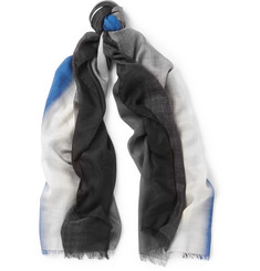 Berluti Sunset Cashmere and Silk-Blend Scarf