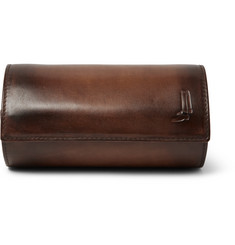 Berluti Polished-Leather Watch Roll