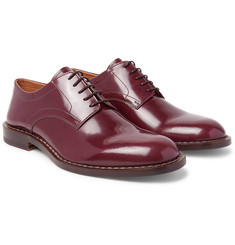 Maison Margiela - Polished-Leather Derby Shoes