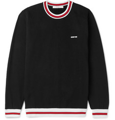 Givenchy Fleece-Back Cotton-Jersey Sweatshirt