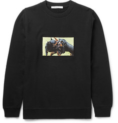 Givenchy Rottweiler Fleece-Back Cotton-Jersey Sweatshirt