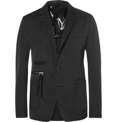 Givenchy Cuban-Fit Canvas-Trimmed Twill Blazer