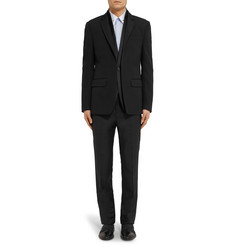 Givenchy Black Cuban-Fit Satin-Trimmed Wool Tuxedo Jacket