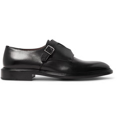 Givenchy Polished-Leather Monk-Strap Shoes