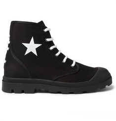 Givenchy Olympus Canvas Boots