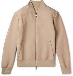 Berluti Nubuck Leather Bomber Jacket