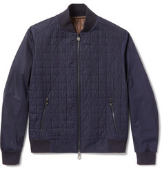 Berluti Quilted Shell Bomber Jacket