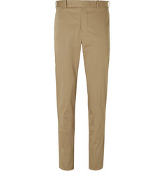 Berluti - Slim-Fit Stretch-Cotton Trousers