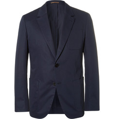 Berluti Blue Stretch-Cotton Blazer