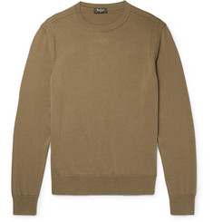 Berluti Silk and Cotton-Blend Sweater