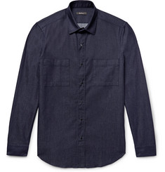 Berluti - Slim-Fit Denim Overshirt