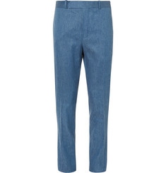 Berluti Stretch Linen and Cotton-Blend Trousers