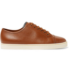 John Lobb Levah Full-Grain Leather Sneakers