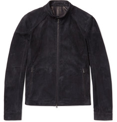 Connolly Suede Racing Jacket