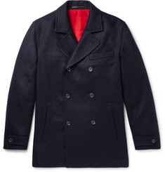 Connolly Slim-Fit Cashmere Peacoat