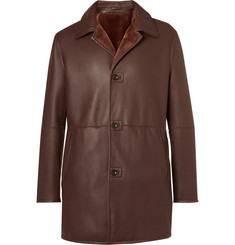 Connolly Lightweight Shearling Coat