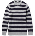 Connolly - Stirling Striped Wool and Cashmere-Blend Sweater