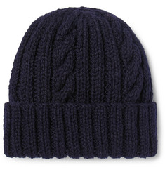 Connolly - Cable-Knit Wool Beanie