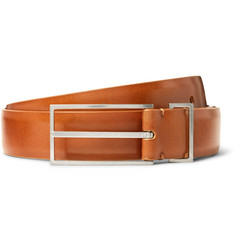 Maison Margiela 3cm Brown Leather Belt