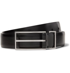 Maison Margiela 3cm Black Leather Belt