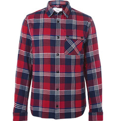 Aztech Mountain Lodge Peak Checked Cotton-Flannel Shirt