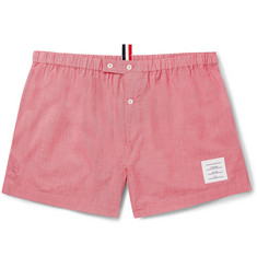 Thom Browne - Puppytooth Cotton Boxer Shorts