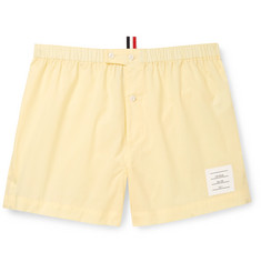 Thom Browne Puppytooth Cotton Boxer Shorts