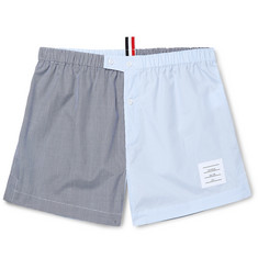 Thom Browne Gingham Cotton Boxer Shorts