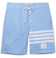 Thom Browne - Long-Length Striped Swim Shorts