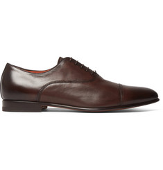 Santoni Leather Oxford Shoes