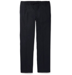 Valentino Slim-Fit Stretch-Cotton Drawstring Trousers