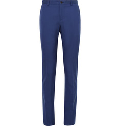 Etro Slim-Fit Wool and Cotton-Blend Twill Trousers