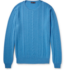 Etro Cable-Knit Cashmere Sweater