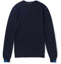 Etro Cotton And Cashmere-Blend Sweater