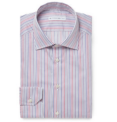 Etro Mercurino Slim-Fit Striped Cotton Shirt