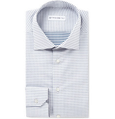 Etro - Mercurio Slim-Fit Polka-Dot Cotton Shirt