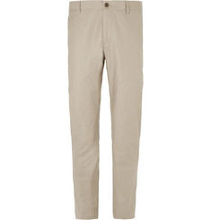 Etro - Slim-Fit Stretch-Cotton Trousers