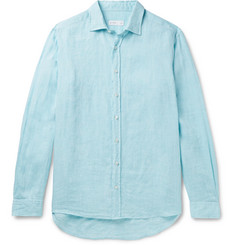 Etro Slim-Fit Linen Shirt