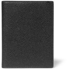 Thom Browne - Pebble-Grain Leather Passport Holder