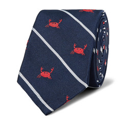 Thom Browne - 6cm Crab-Patterned Silk-Jacquard Tie