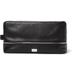 Dolce & Gabbana Full-Grain Leather Wash Bag