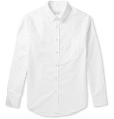 Dunhill Slim-Fit Button-Down Collar Cotton Oxford Shirt