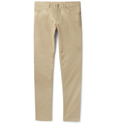 Dunhill Slim-Fit Brushed-Cotton Twill Trousers