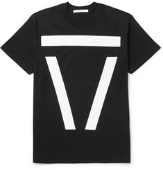 Givenchy - Columbian-Fit Appliquéd Cotton-Jersey T-Shirt