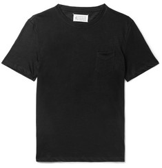 Maison Margiela Slim-Fit Ramie and Cotton-Blend Jersey T-Shirt