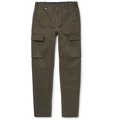 Maison Margiela Cotton-Twill Cargo Trousers